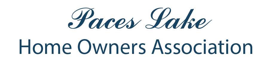 Paces Lake Home Owners Association Logo